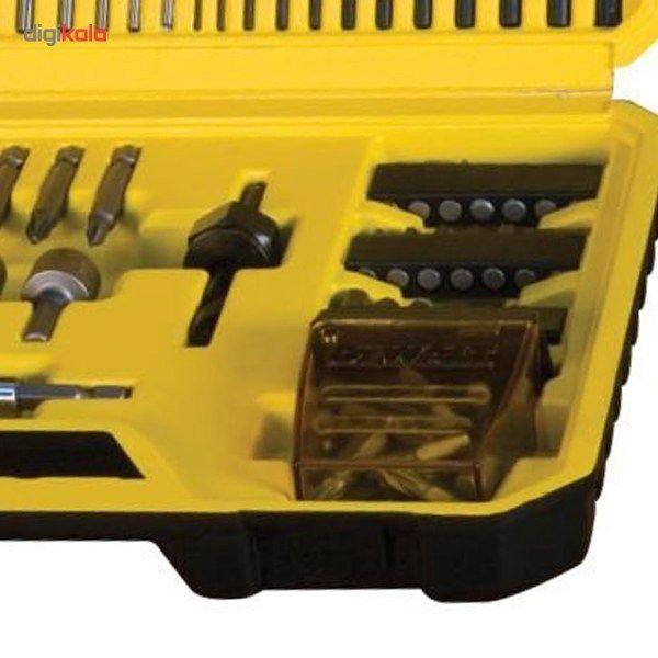 مجموعه 100 عددی سری پیچ گوشتی و مته دیوالت مدل DT71563 main 1 5