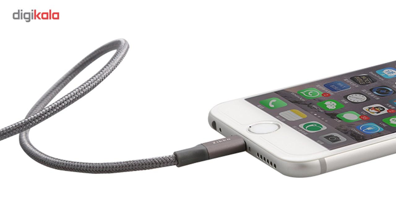 کابل تبدیل USB به لایتنینگ آیفون زیکو مدل Sc500 به طول 1.5 متر main 1 9