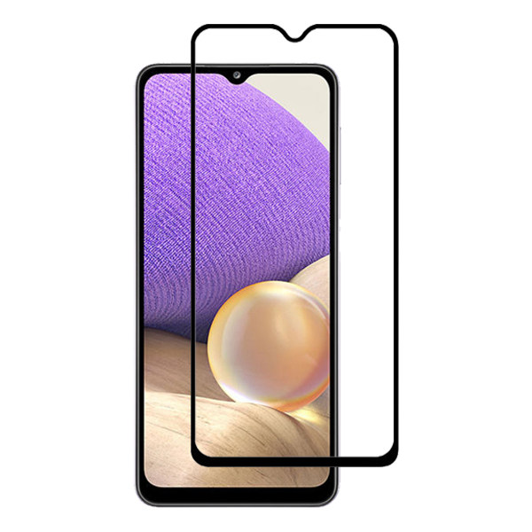 محافظ صفحه نمایش مدل FULL مناسب برای گوشی موبایل سامسونگ Galaxy A32