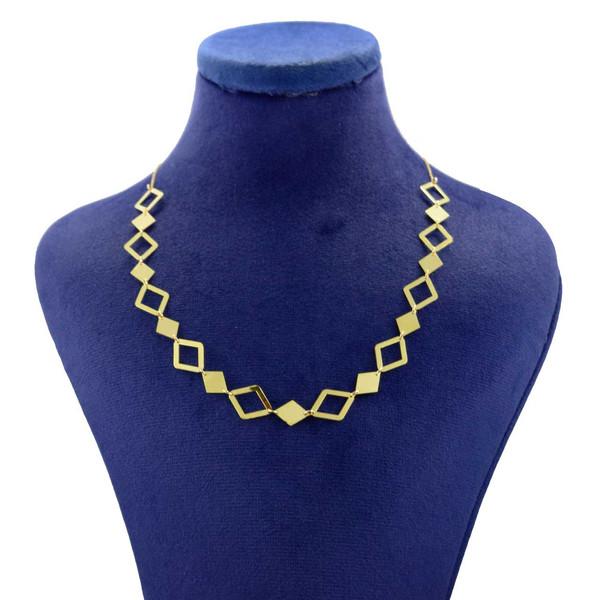 گردنبند طلا 18 عیار زنانه کانیار گالری مدل NE74