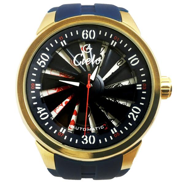 ساعت مچی عقربه ای مردانه سیلو مدل WPO-3006