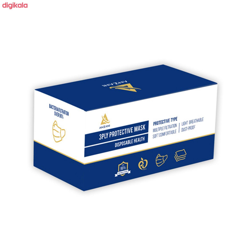 ماسک تنفسی انزانی مدل NI11 بسته 50 عددی main 1 3