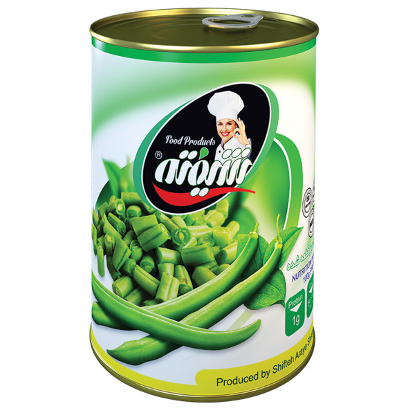 کنسرو لوبیا سبز شیفته - 370 گرم