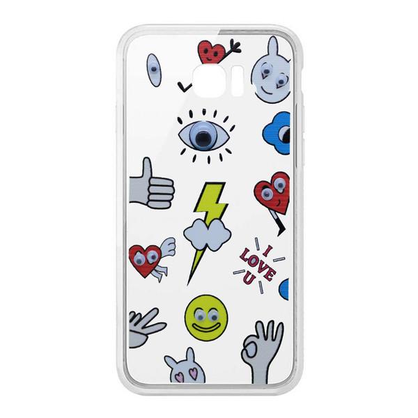 کاور طرح I Love U مدل CLR-099 مناسب برای گوشی موبایل سامسونگ Galaxy S6