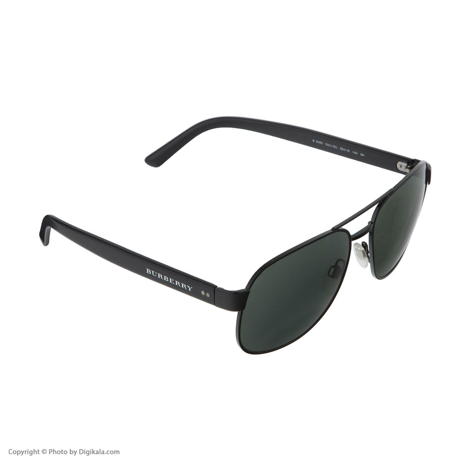 عینک آفتابی زنانه بربری مدل BE 3083S 10015U 59 -  - 5