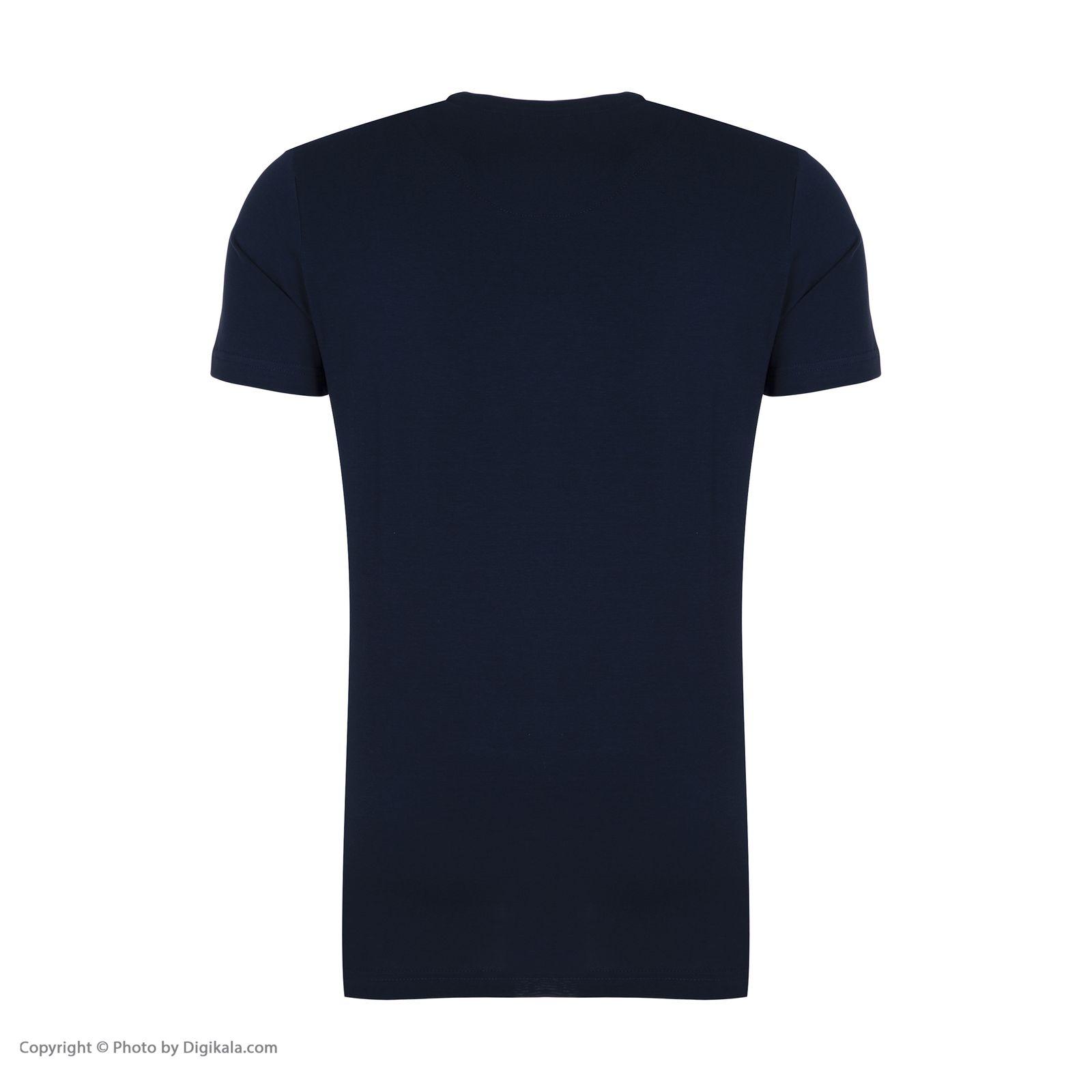 تیشرت مردانه جامه پوش آرا مدل 4011019355-59 -  - 5