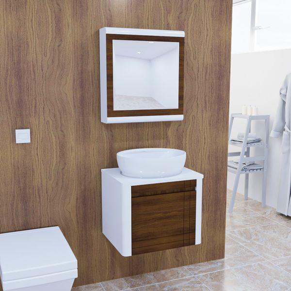 ست کابینت و روشویی مدل lux1150 به همراه آینه و باکس