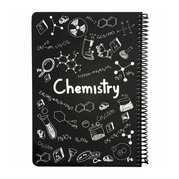 دفتر 100 برگ طرح شیمی مدل دات نوت