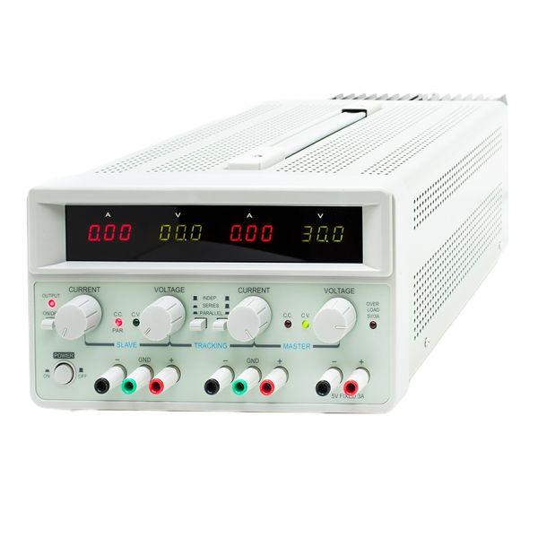 منبع تغذیه 30 ولت 5 آمپر دوبل مگاتک مدل MP-3005-D