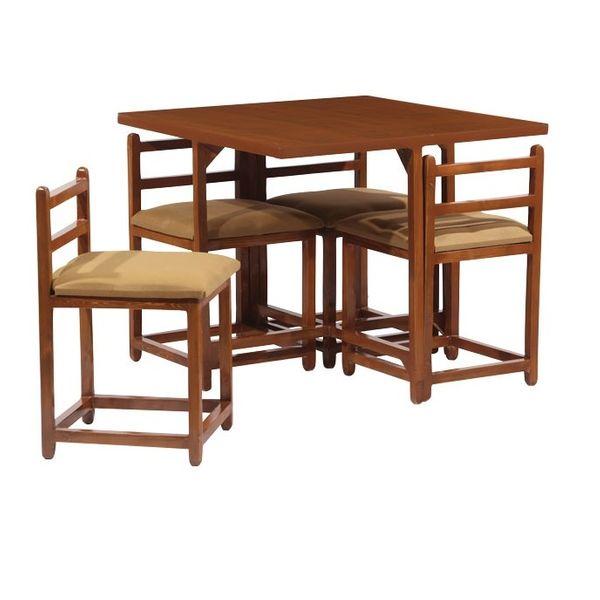 میز و صندلی ناهارخوری 4 نفره مدل 006