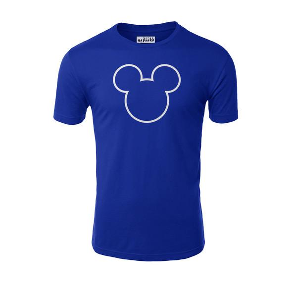 تیشرت آستین کوتاه مردانه فانتازیو طرح Minnie Mouse مدل 251کد MM001