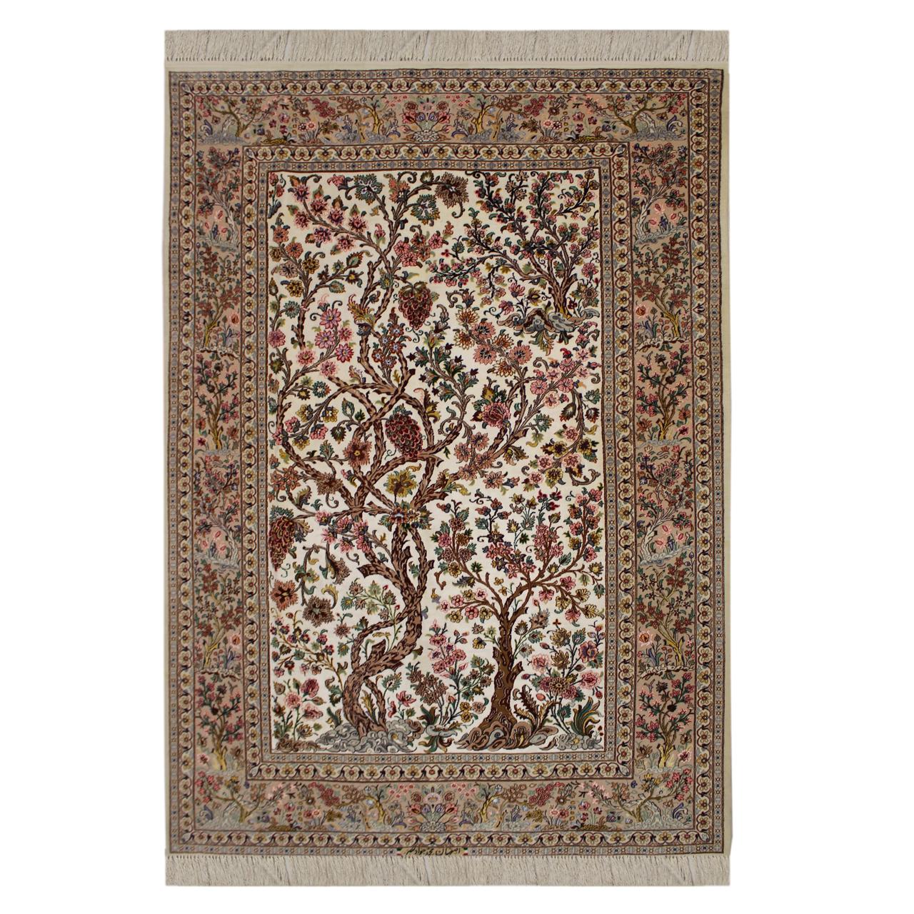 فرش  دستبافت  سه و نیم متری محمد جواد نصر کد 45