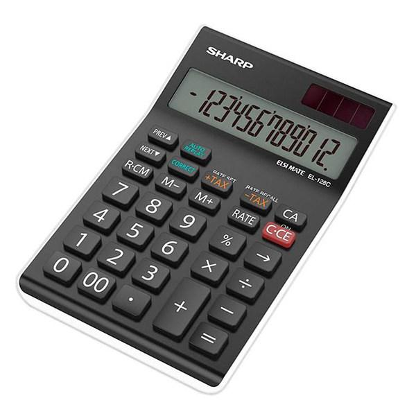 ماشین حساب شارپ مدل EL-128C-WH