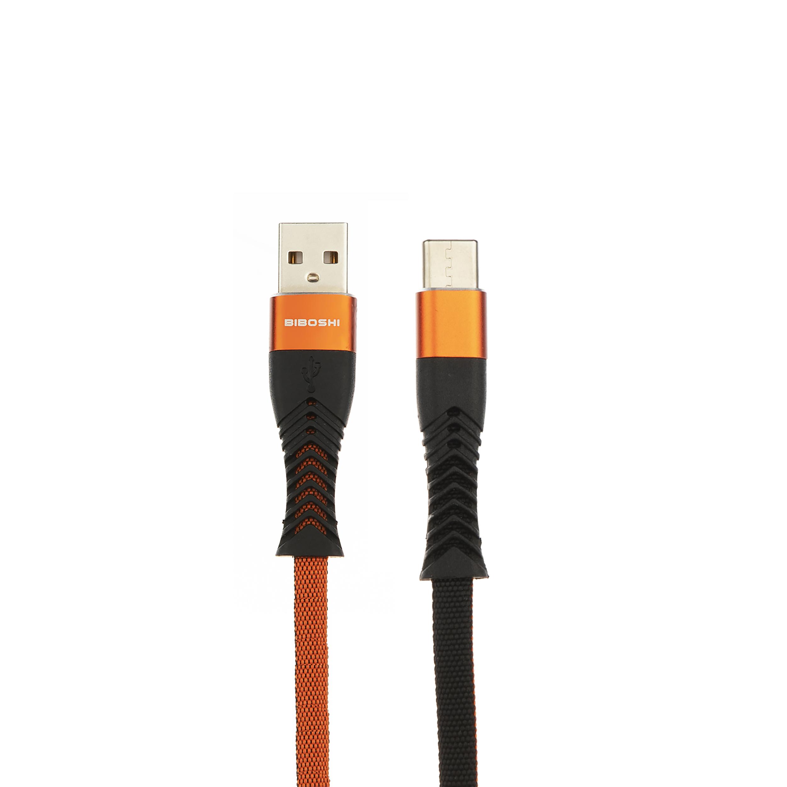 کابل تبدیل USB به USB-C بیبوشی مدل A18 طول 1 متر