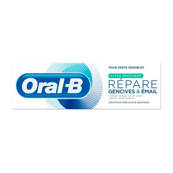 خمیر دندان اورال بی سری GUM & Enamel Repair مدل Extra Fresh حجم 75 میلی لیتر