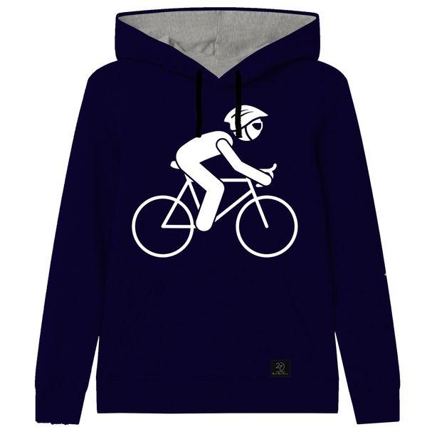 هودی پسرانه 27طرح دوچرخه کد J09 رنگ سرمه ای