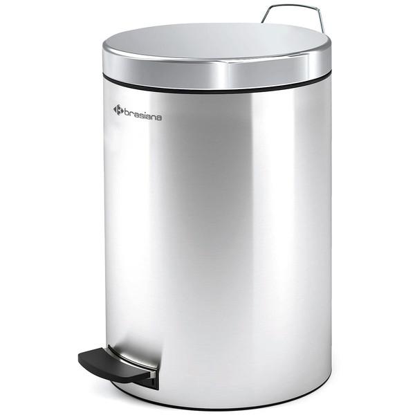 سطل زباله پدالی براسیانا مدل BPB-181 ظرفیت 12 لیتر