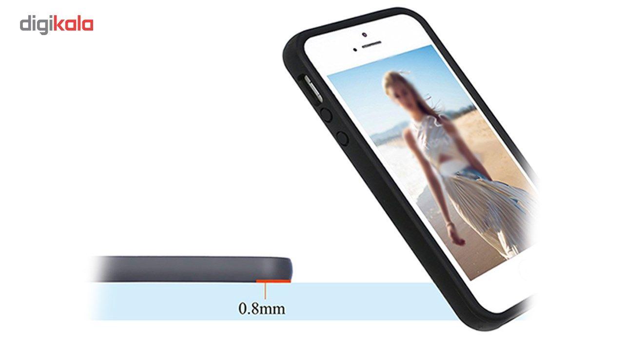 کاور کی اچ مدل 6735 مناسب برای گوشی موبایل آیفون 5، 5s و SE main 1 2