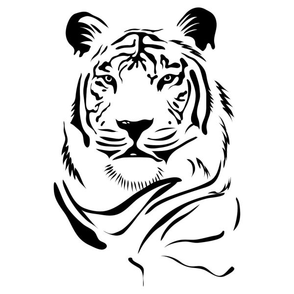 استیکر پرشین استیکر طرح Tiger