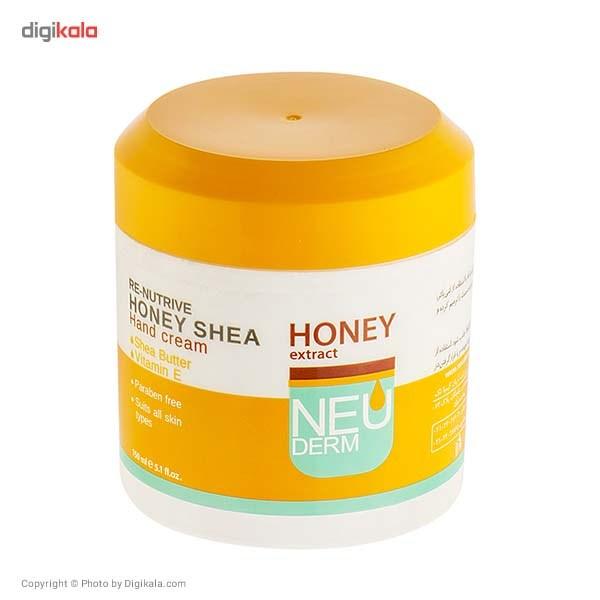 کرم دست نیودرم مدل Honey Shea حجم 150 میلی لیتر
