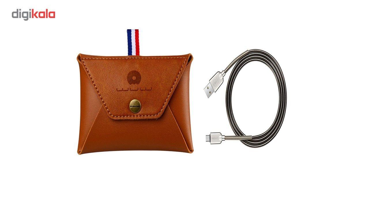 کابل تبدیل USB به microUSB دابلیو یو دابلیو مدل X30 به طول 1 متر main 1 2
