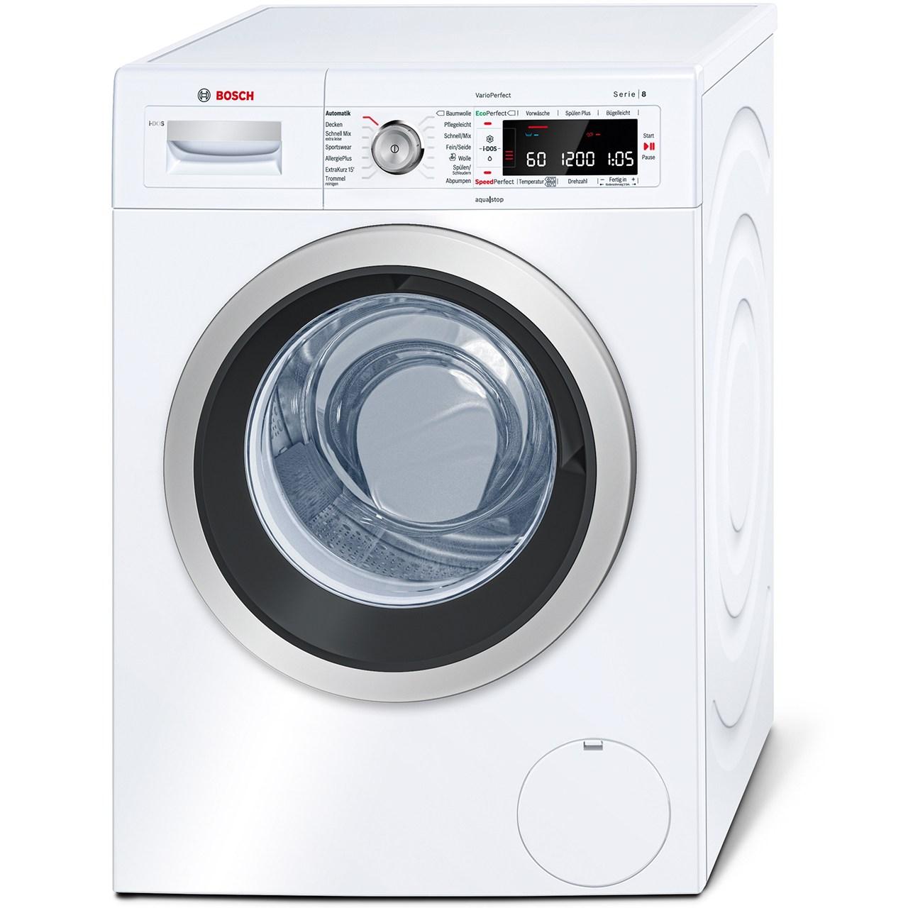 ماشین لباسشویی بوش مدل WAW28640 ظرفیت 8 کیلوگرم
