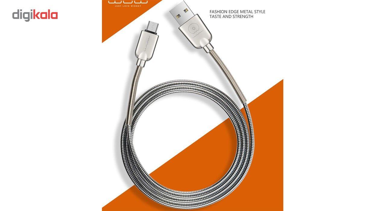 کابل تبدیل USB به microUSB دابلیو یو دابلیو مدل X30 به طول 1 متر main 1 6