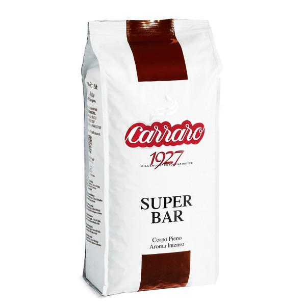 بسته دانه قهوه کارارو مدل SUPER BAR  مقدار  1000 گرم