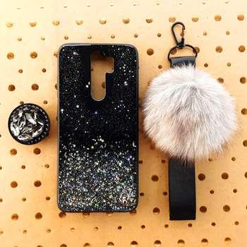 کاور طرح ستاره کد 01 مناسب برای گوشی موبایل شیائومی Redmi Note 8 Pro به همراه بند و پایه نگهدارنده
