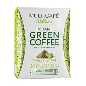 قهوه سبز فوری مولتی کافه تندرستی بسته 30 عددی