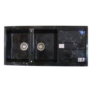 سینک ظرفشویی پارادایز مدل NEWBL202 توکار