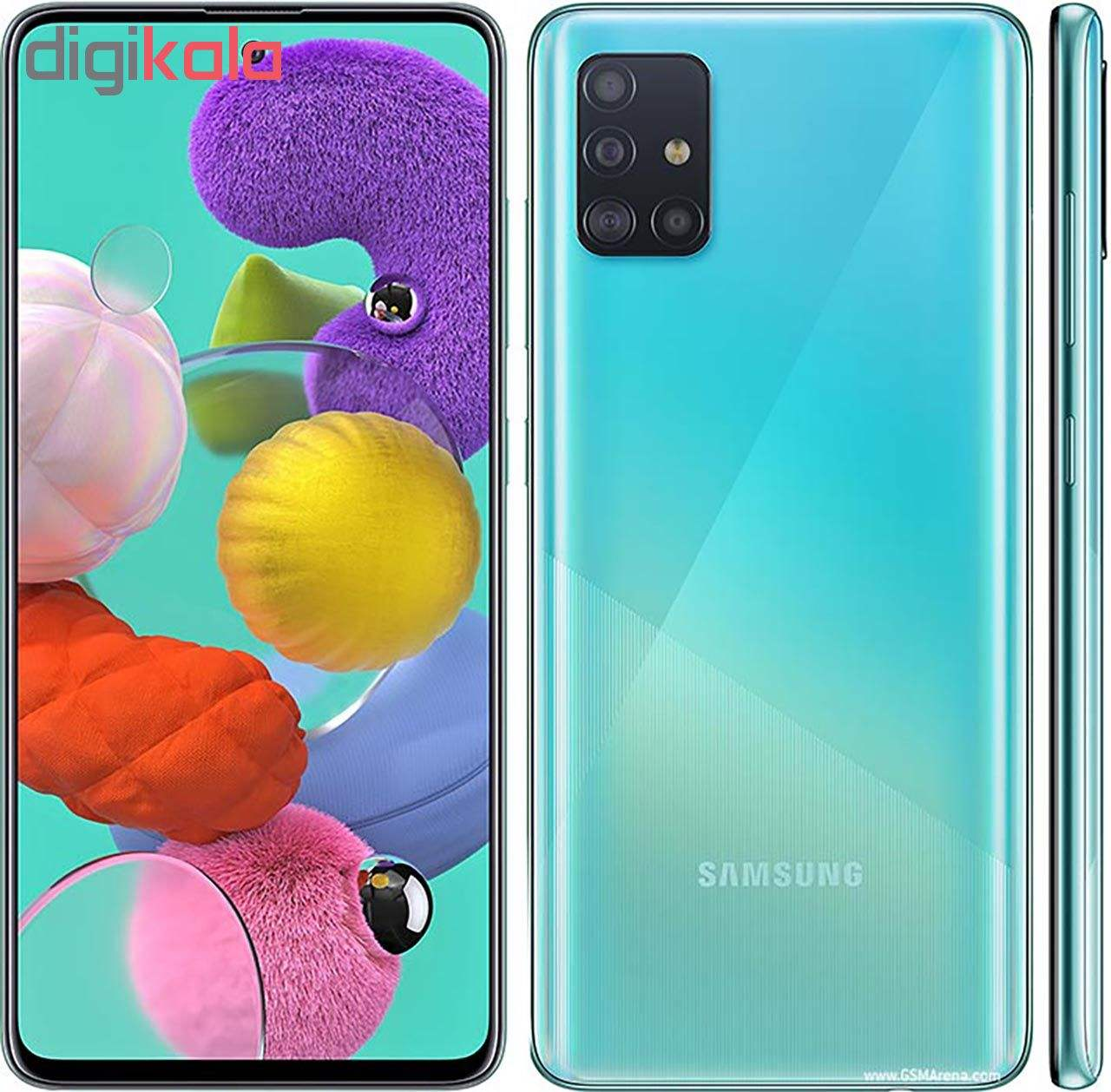 گوشی موبایل سامسونگ مدل Galaxy A51 SM-A515F/DSN دو سیم کارت ظرفیت 128گیگابایت main 1 22