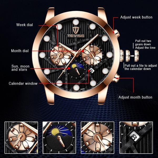 ساعت مچی عقربهای مردانه تویس مدل t850