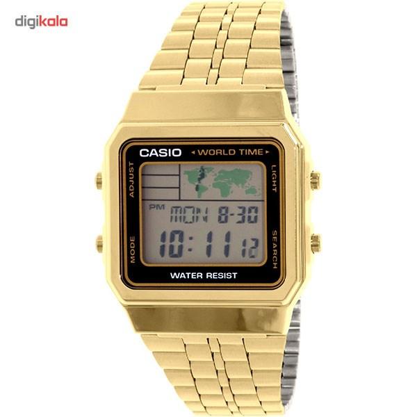 خرید ساعت مچی دیجیتال مردانه کاسیو مدل A500WGA-1DF | ساعت مچی