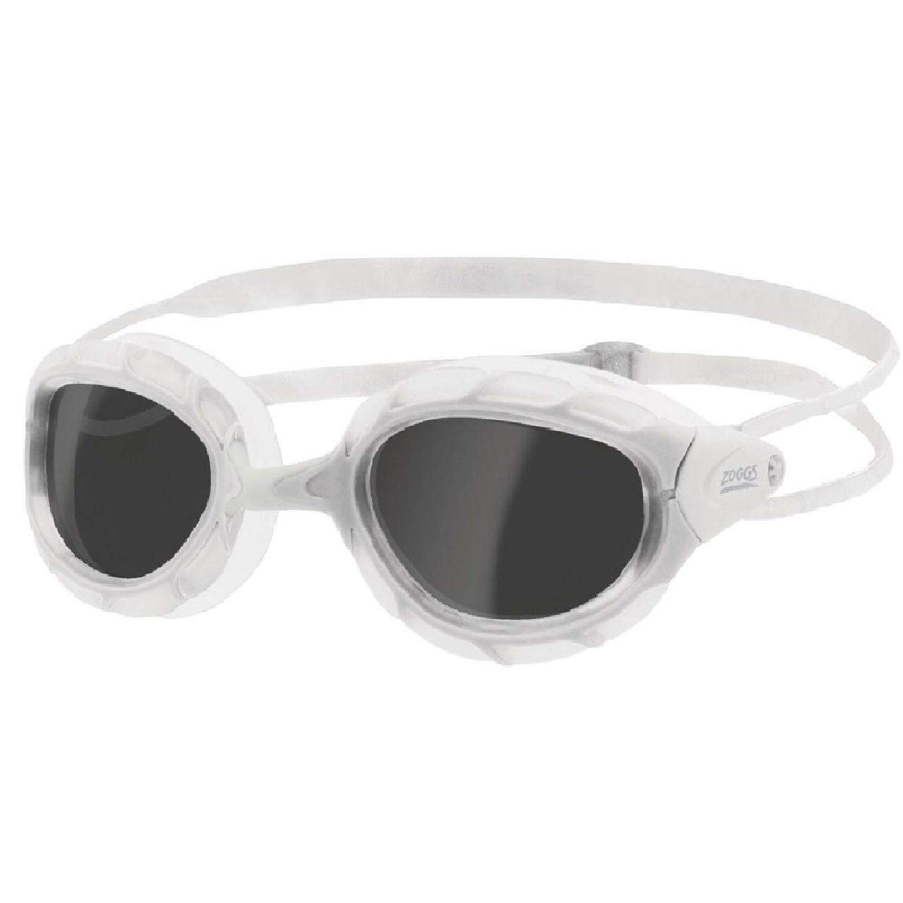 عینک شنای زاگز مد Predator white