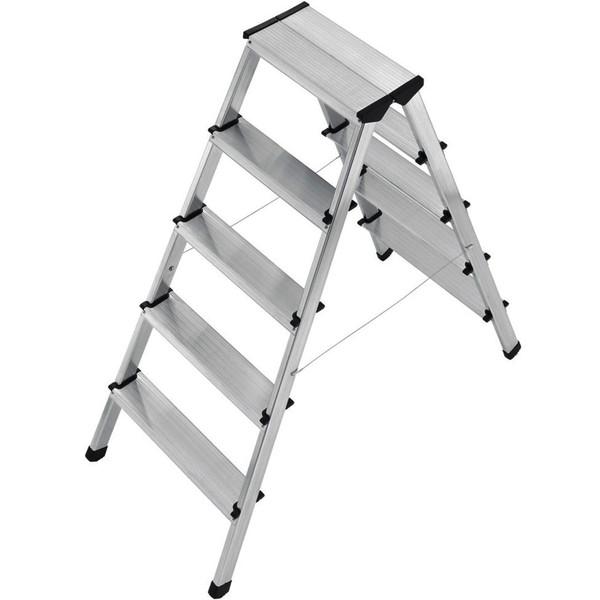 نردبان 5 × 2 پله هایلو مدل L90-8655001