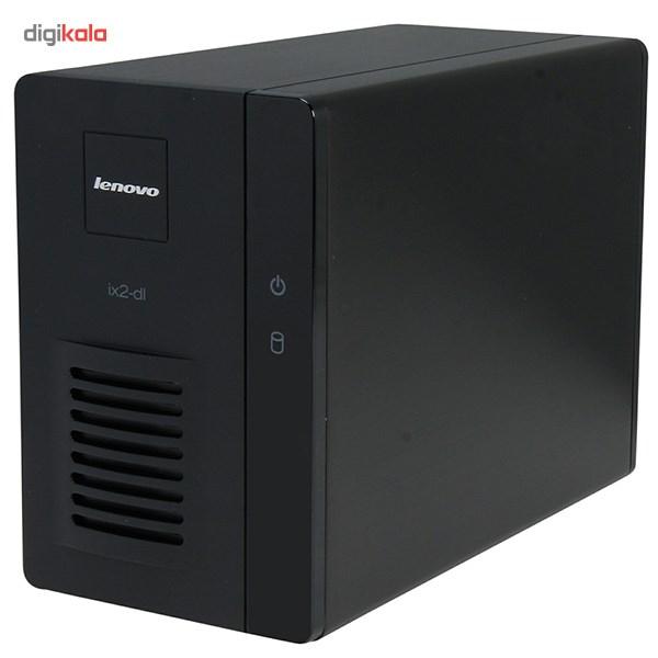 ذخیره ساز تحت شبکه 2Bay لنوو مدل آی امگا IX2 ظرفیت 4 ترابایت