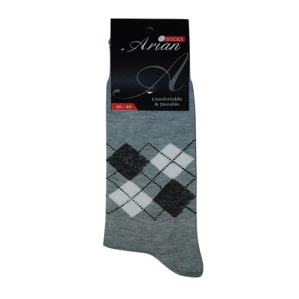 جوراب مردانه آرین کد 5 مجموعه ۶ عددی -  - 3