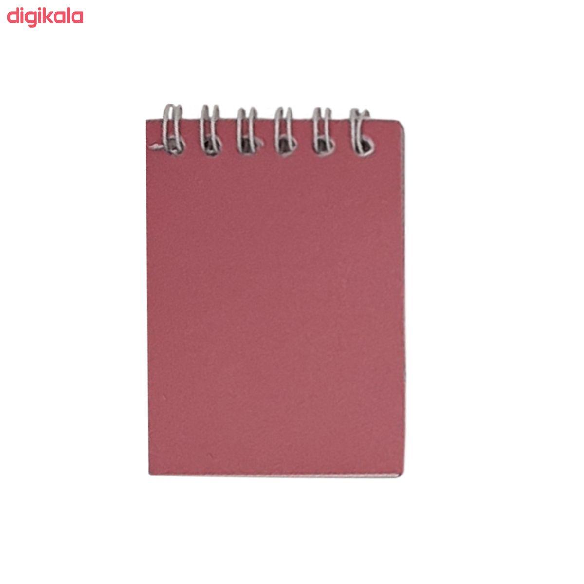 دفترچه یادداشت 60 برگ الماس مدل B-SD-T main 1 5