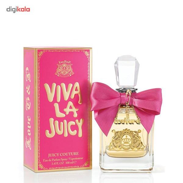 ادو پرفیوم زنانه جویسی کوتور مدل Viva la Juicy حجم 100 میلی لیتر