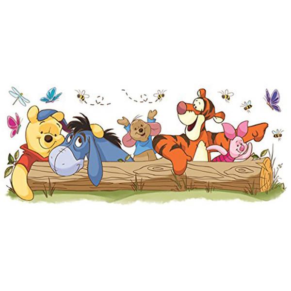 استیکر رومیت مدل Pooh And Friends Outdoor Fun Gnt