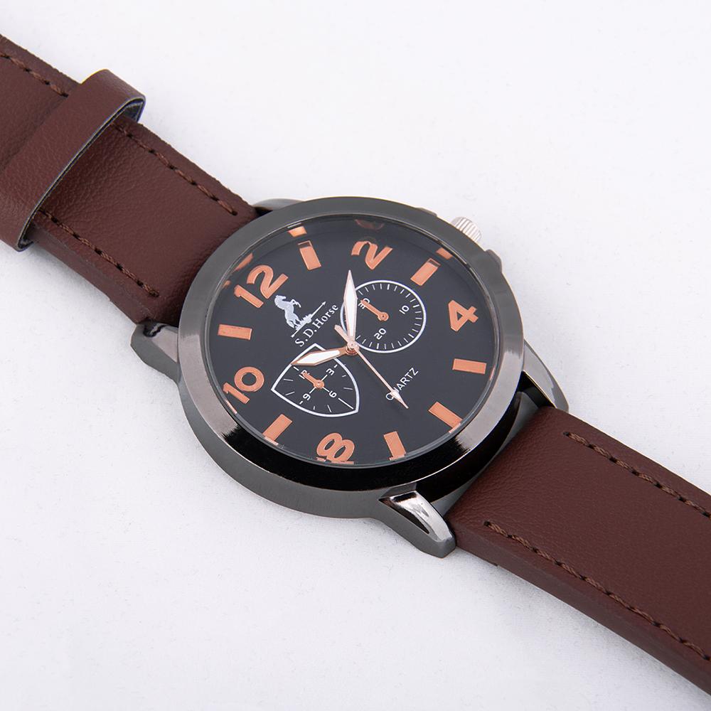 ساعت مچی عقربهای مردانه کد  A043              اصل
