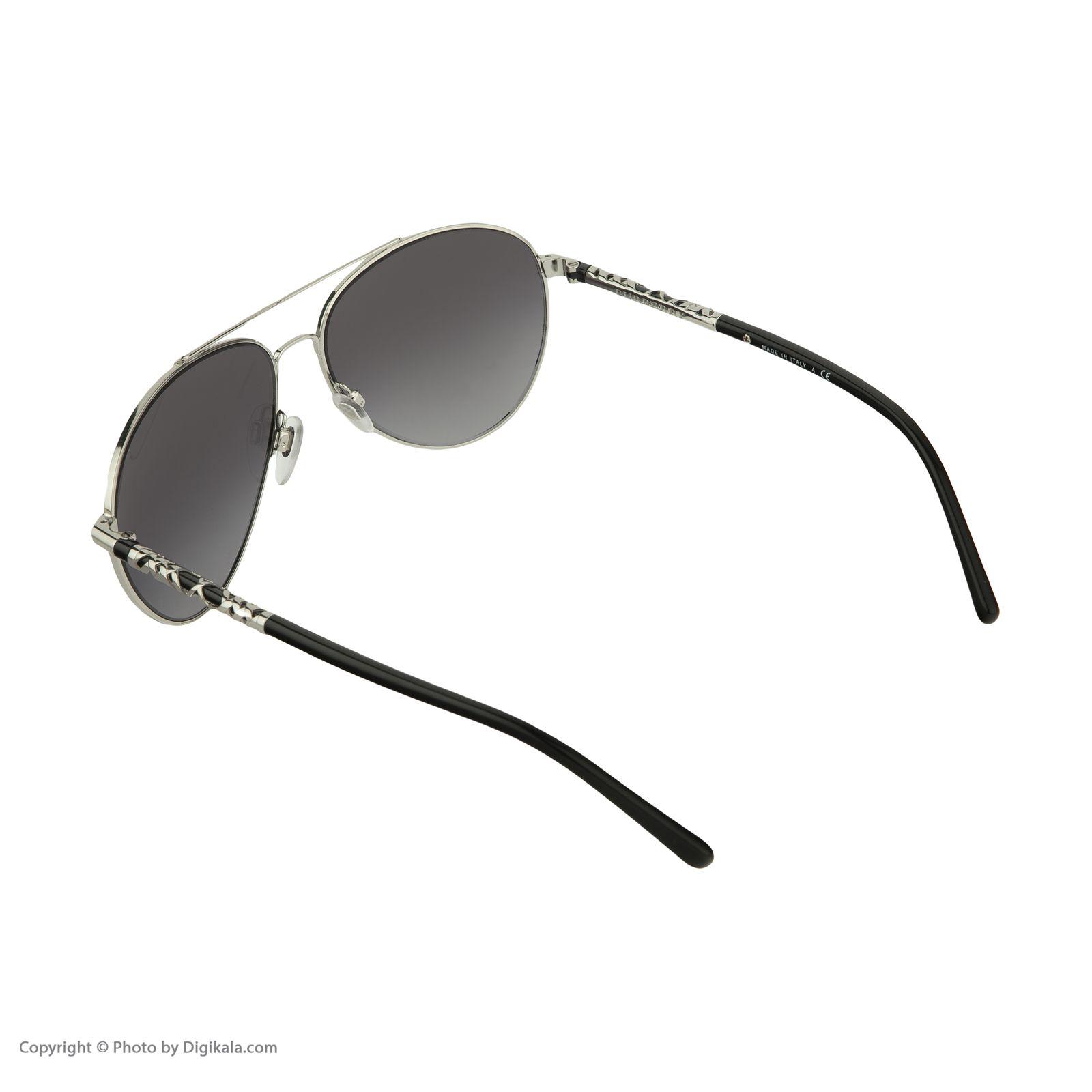 عینک آفتابی زنانه بربری مدل BE 3089S 10058G 58 -  - 5