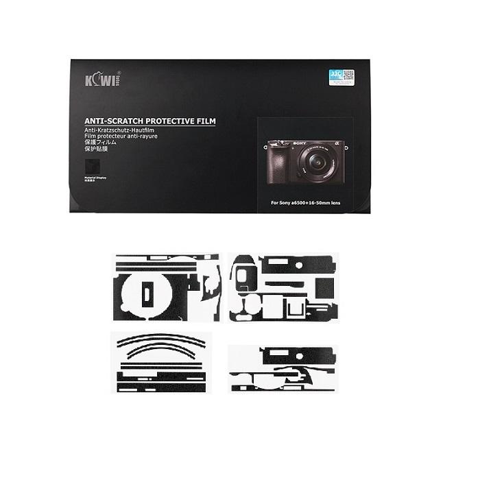 برچسب پوششی کیوی مدل KS-A6500SK مناسب برای دوربین عکاسی سونی A6500