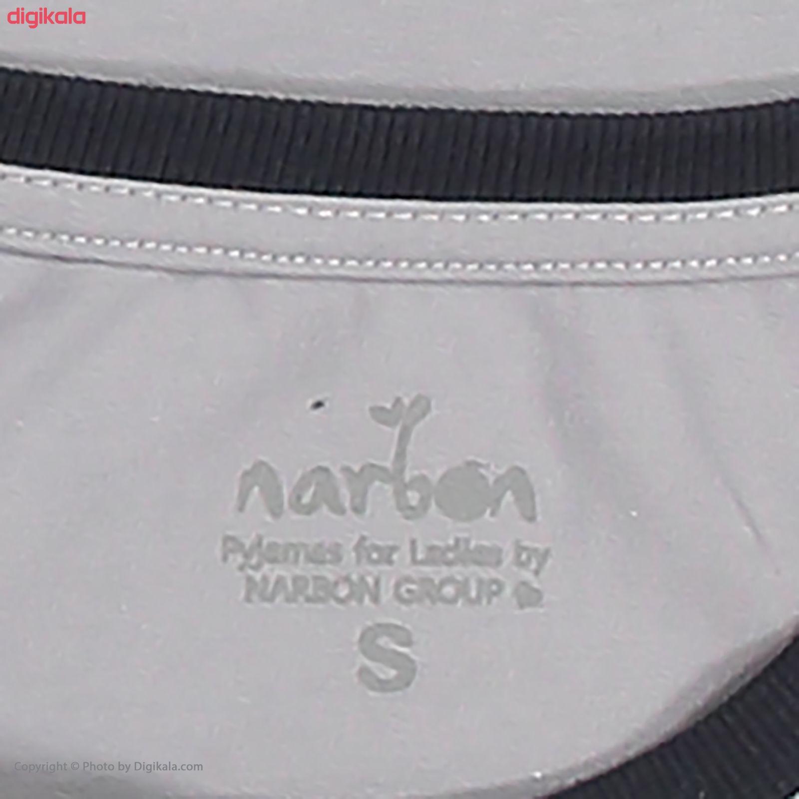 ست تی شرت و شلوار زنانه ناربن مدل 1521284-92 main 1 5
