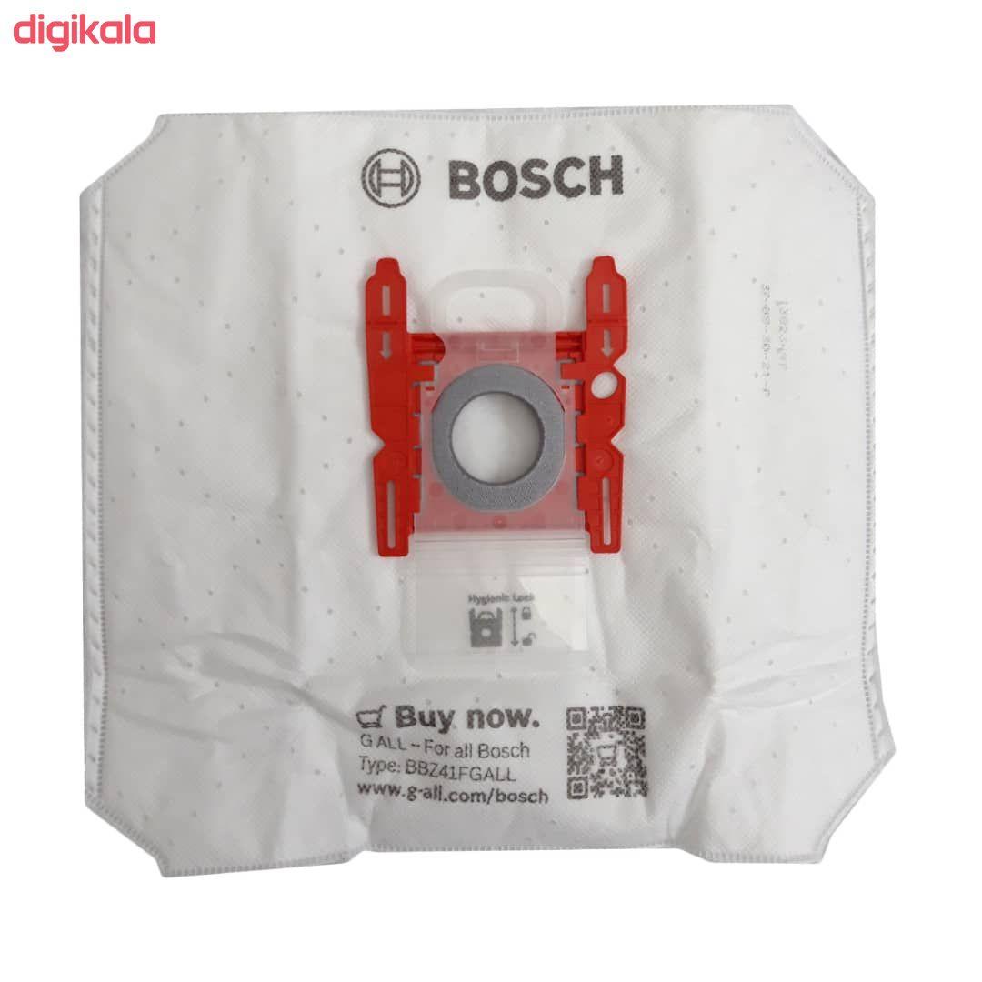 پاکت جاروبرقی بوش مدل 0021 بسته 4 عددی مناسب برای جاروبرقی بوش تایپ G  main 1 1