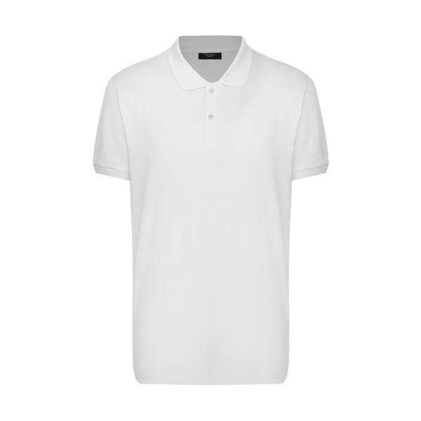 پولوشرت مردانه کالینز مدل 142112106-WHITE
