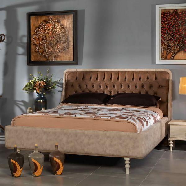 تخت خواب دو نفره کد 193 سایز 160x200 سانتی متر
