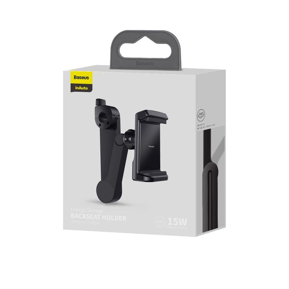 پایه نگهدارنده و شارژر بی سیم گوشی موبایل باسئوس مدل WXHZ-01 main 1 6