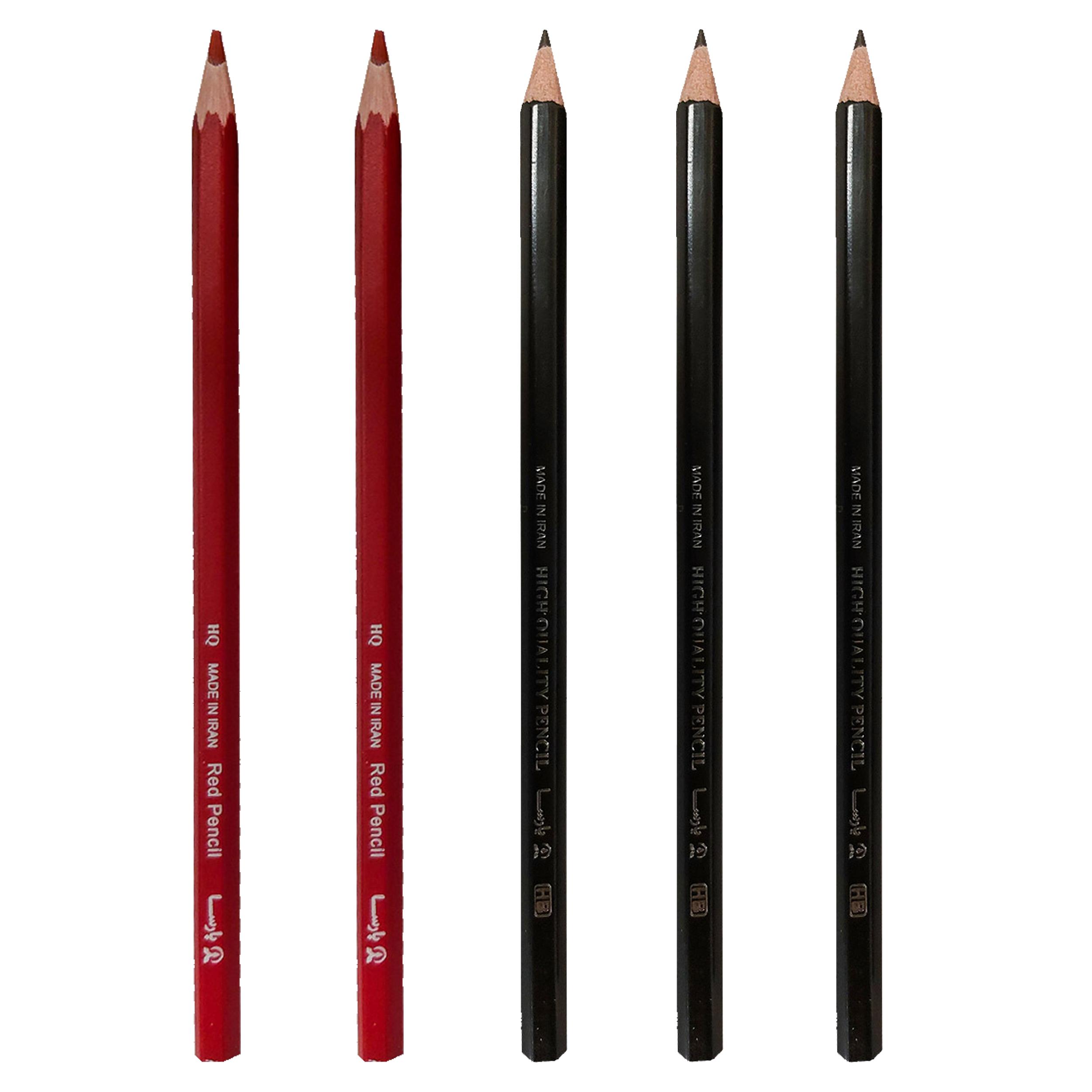 مداد پارسا کد 5 بسته 5 عددی
